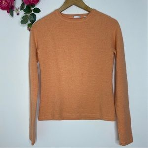 Halogen Peach 🍑 Crewneck angora blend sweater